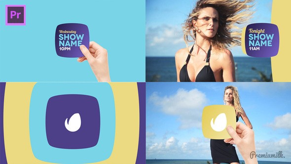 Videohive Broadcast Hand Package Essential Graphics | Mogrt 22386922 - Premiere Pro