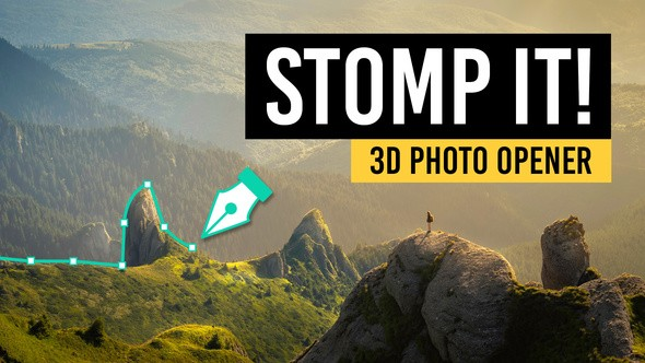 Videohive STOMP IT! - 3D Photo Opener 22184535