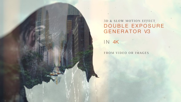 Videohive Double Exposure Generator V3 15540864
