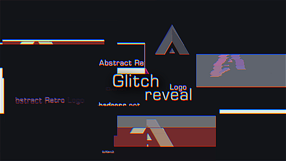 Videohive Glitch Logo Reveal 19298867