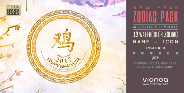 Videohive New Year Zodiac Pack 19300606