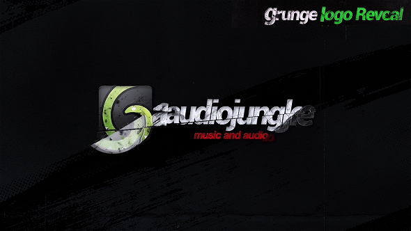 Videohive Grunge Logo Reveal 21269568