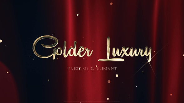 Videohive Golden Luxury Red Carpet Titles 18847519