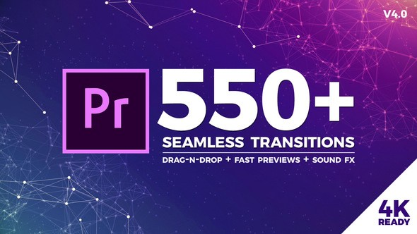 Videohive Seamless Transitions for Premiere Pro 21797912