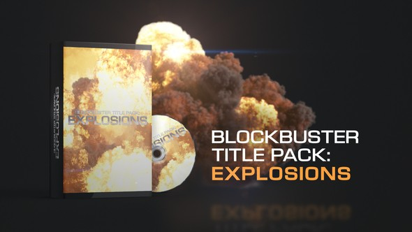Videohive Blockbuster Title Pack: Explosions 22352530