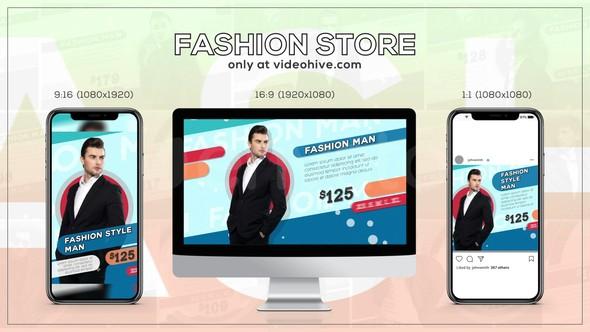 Videohive Fashion Store 22535742