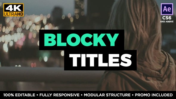 Videohive Text Box Block Titles 19808874