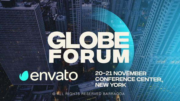 Videohive Globe Forum 20701901