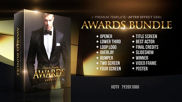 Videohive Awards Bundle 22132847