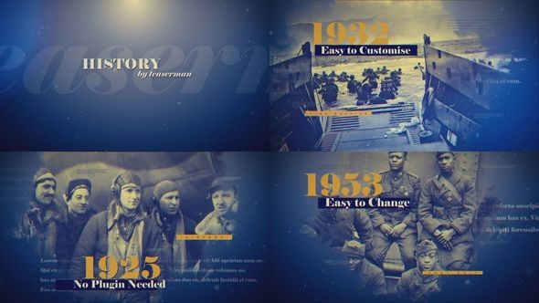 Videohive The History Timeline 22561699