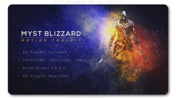 Videohive Myst Blizzard Motion ToolKit 22529712