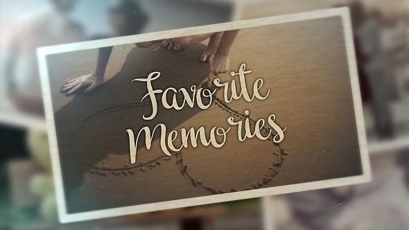 Videohive Favorite Memories 21490652 - Premiere Pro