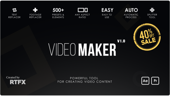 Videohive Video Maker 21801650 [Cracked Version]