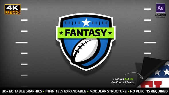 Videohive Fantasy Focus | Fantasy Football Kit 22561492