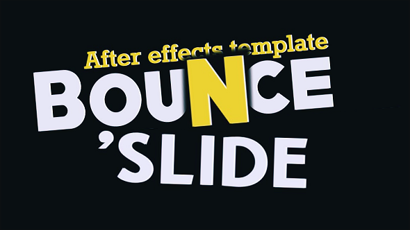 Videohive Fresh Animated Titles - Bounce n' Slide 10513014