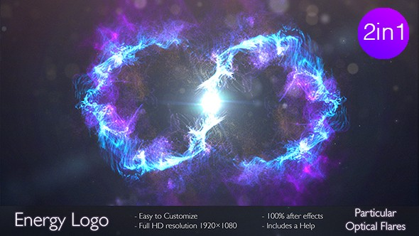 Videohive Energy logo 2 in 1 16754890