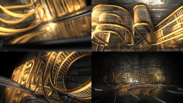 Videohive Dark Rejected Element 3D Logo Opener 21135722