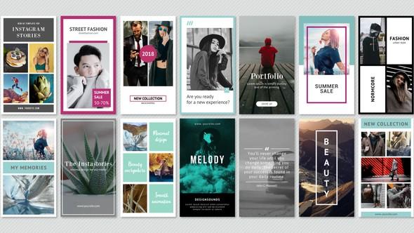Videohive Instagram Stories Minimal Pack 22130025