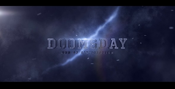 Videohive Doomsday Title design 20728676