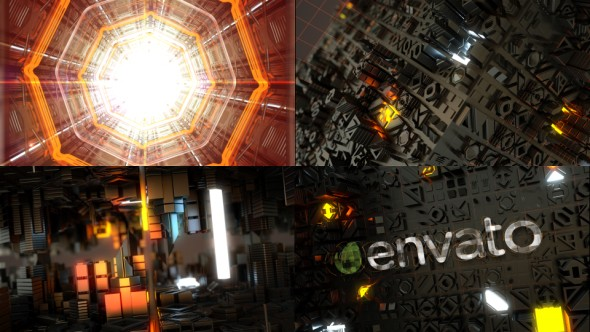 Videohive Scifi HiTech Opener & Logo Reveal 20950024