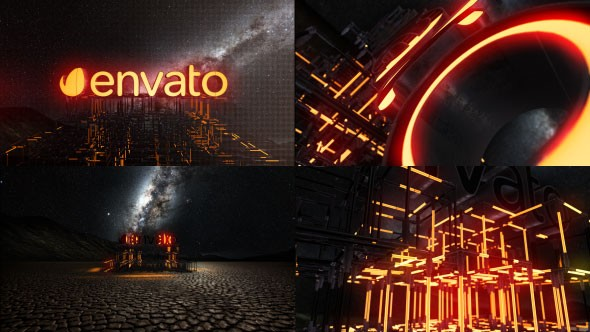 Videohive Lightbuild Element 3D Logo Reveal 20924279
