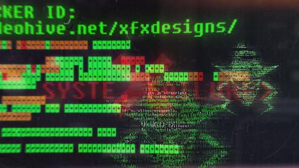 Videohive Hacker Logo 22588051