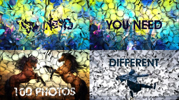 Videohive 3d Projection Slide Show 20977292
