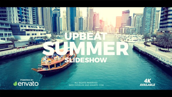 Videohive Upbeat Summer Slideshow 20198973