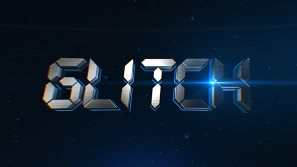 Videohive Glitch Logo Reveal 14137544