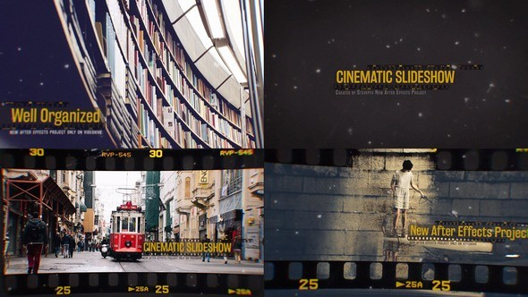 Videohive Cinematic Slideshow 15003147