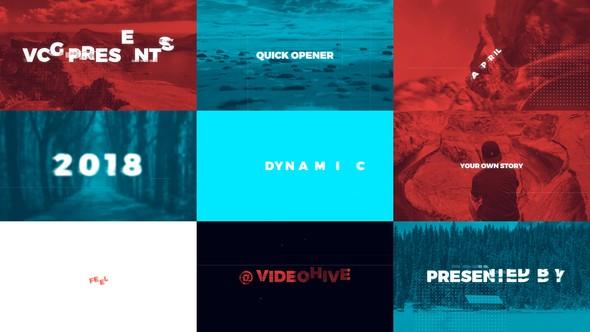 Videohive Quick Opener 21683933