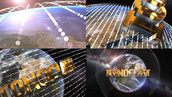 Videohive The Earth Element 3D Text Logo Opener 18566032