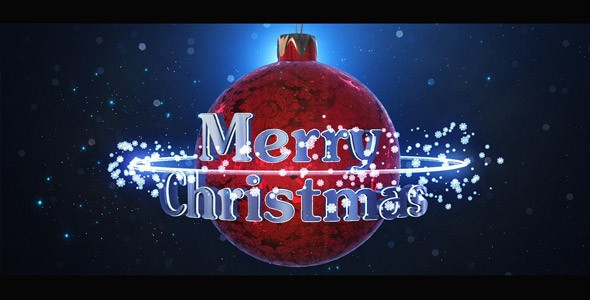 Videohive Christmas Logo 19085046