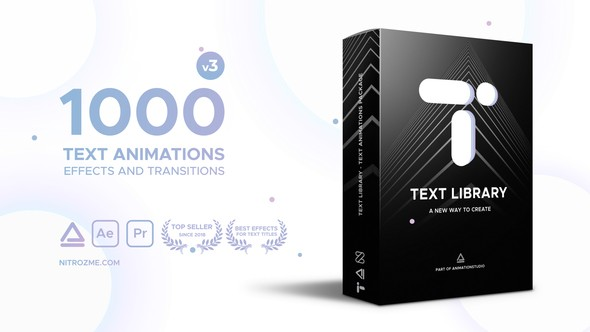 Videohive - Text Library - Handy Text Animations V3 - 21932974