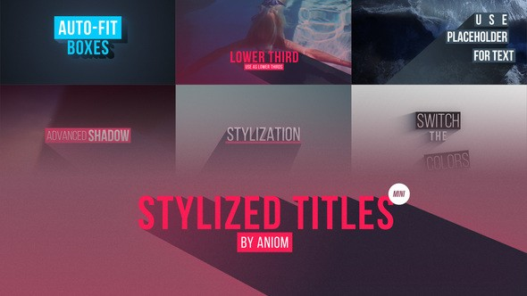 Videohive Stylized Titles 22604368