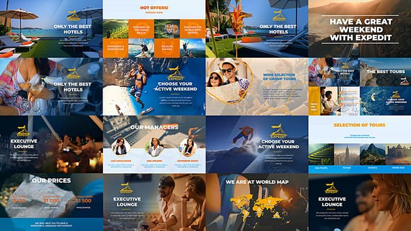 Videohive Videohive Travel Agency Promo - World Expedition Presentation 22218739