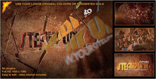 Videohive Steampunk Logo 11841665