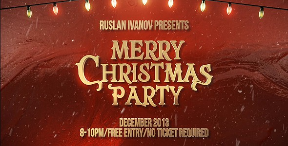 Videohive Merry Christmas Party Teaser 6202747