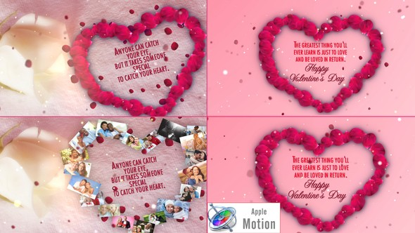 Videohive Valentines Day Wishes - Apple Motion 22637505