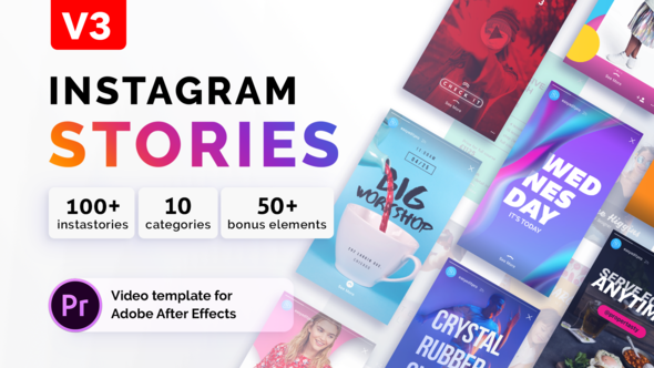 Videohive Instagram Stories | For Premiere Pro V3 21997486