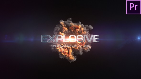 Videohive Quick Explosion Title 22651410