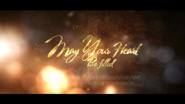 Videohive Elegant Christmas Greetings 13932126