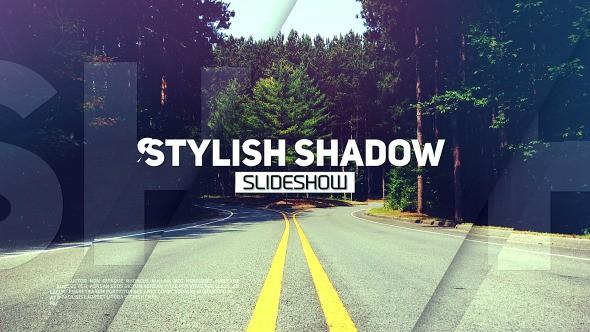 Videohive Stylish Shadow Slideshow 12717456