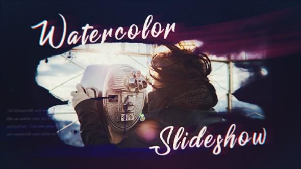 Videohive Ink Watercolor Slideshow 20596022