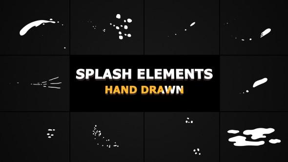 Videohive Splash Animated Elements 21307372