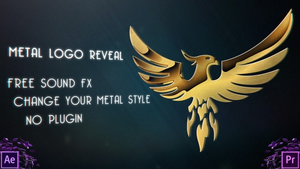 Videohive Metal Logo Reveal 22086775