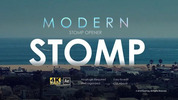 Videohive Modern Stomp Opener 22022906