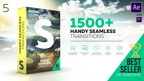 Videohive Transitions 18967340 V5 (With Crack) - Last Update 24 September 18