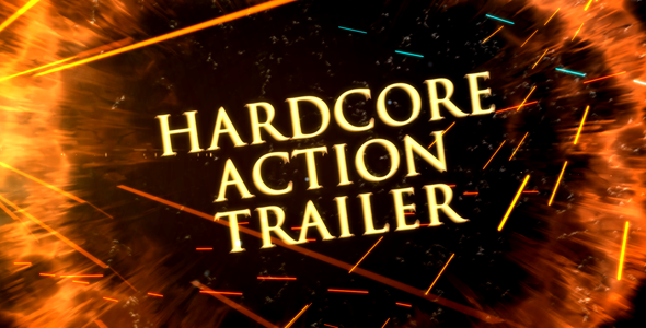 Videohive Hardcore Action Trailer 19319437