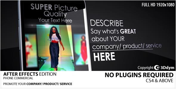 Videohive Phone Commercial 2031231
